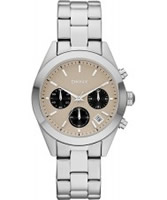 Buy DKNY Ladies Neutrals Chronograph Watch online