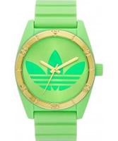 Buy Adidas Santiago 42mm Green Watch online