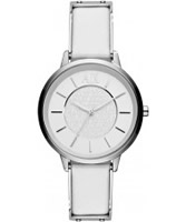 Buy Armani Exchange Ladies White Olivia Smart Watch online