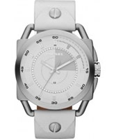Buy Diesel Mens NSBB Descender White Watch online