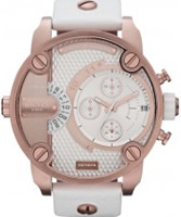 Buy Diesel Mens Baby Daddy Chrono White Watch online
