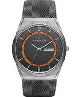 Buy Skagen Mens Grey Aktiv Mesh Watch online
