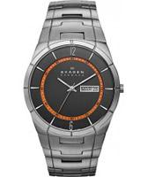 Buy Skagen Mens Grey Aktiv Titanium Watch online