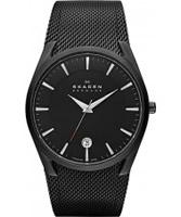 Buy Skagen Mens Black Aktiv Mesh Watch online