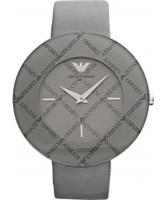 Buy Emporio Armani Ladies Donna Oversized Grey Watch online