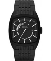 Buy Diesel Mens NSBB Scalped Black Watch online