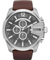 Buy Diesel Mens MEGA CHIEF Chronograph Watch online