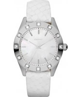 Buy DKNY Ladies Neutrals White Watch online