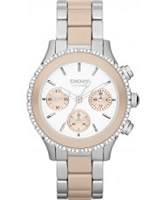 Buy DKNY Ladies CERAMIX Chronograph Watch online