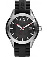 Buy Armani Exchange Mens Black Coronado Active Watch online