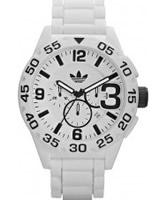 Buy Adidas Mens Newburgh White Chronograph Watch online