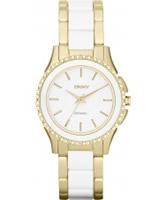Buy DKNY Ladies Brooklyn Two Tone Bracelet Watch online