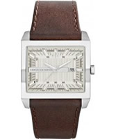 Buy Armani Exchange Mens White Brown Tenno Smart Watch online
