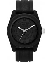 Buy Diesel Mens Rubber Company Black Silicone Strap Watch online