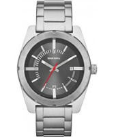 Buy Diesel Mens Good Company Silver Steel Watch online