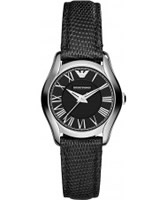 Buy Emporio Armani Ladies Black New Valente Watch online
