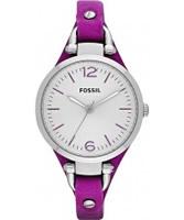 Buy Fossil Ladies Magenda Georgia Watch online