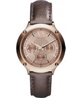 Buy Armani Exchange Ladies Brown Capistrano Active Watch online