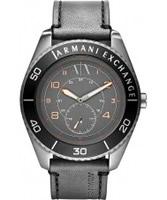 Buy Armani Exchange Mens Grey Gunnison Smart Watch online