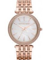 Buy Michael Kors Ladies Rose Gold Darci Watch online