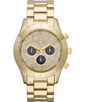 Buy Michael Kors Ladies Gold Layton Chronograph Watch online
