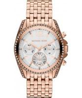 Buy Michael Kors Ladies Rose Gold Pressley Watch online