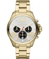 Buy Michael Kors Ladies Gold Wren Chronograph Watch online