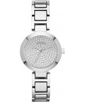 Buy DKNY Ladies Sasha Silver Tone Bracelet Watch online