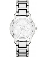Buy DKNY Ladies Park Avenue Silver Tone Bracelet Watch online