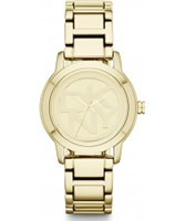 Buy DKNY Ladies Park Avenue Gold Tone Bracelet Watch online
