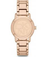 Buy DKNY Ladies Park Avenue Rose Gold Tone Bracelet Watch online