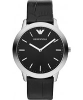 Buy Emporio Armani Mens Black Dino Watch online