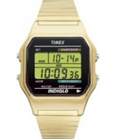 Buy Timex Mens Indiglo Digital Gold Expander Watch online
