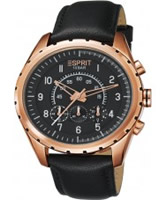 Buy Esprit Mens Colossal Chronograph Black Watch online