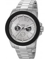 Buy Esprit Mens Clash White Silver Watch online