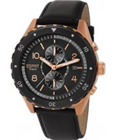 Buy Esprit Mens Alamo Chronograph Black Watch online