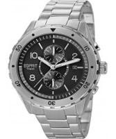 Buy Esprit Mens Alamo Chronograph Silver Watch online