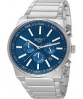 Buy Esprit Mens Modesto Chronograph Dark Blue Watch online