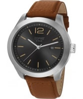 Buy Esprit Mens Misto Black Brown Watch online