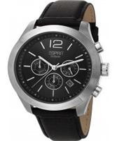 Buy Esprit Mens Misto Chronograph Black Watch online