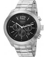 Buy Esprit Mens Misto Black Silver Watch online