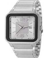 Buy Esprit Mens Foursides White Silver Watch online