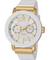 Buy Esprit Ladies Loft Gold IP White Watch online