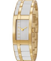 Buy Esprit Ladies Houston Mix Gold IP Watch online