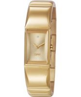 Buy Esprit Ladies Trinity Gold IP Watch online