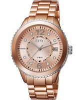 Buy Esprit Ladies Marin Aluminium Rose Gold Watch online