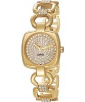 Buy Esprit Ladies Citta Gold IP Watch online
