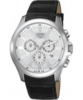 Buy Esprit Mens Kratos White Black Watch online