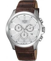 Buy Esprit Mens Kratos White Brown Watch online