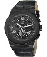 Buy Esprit Mens Phorcys All Black Watch online